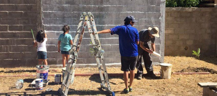 Realizan actividad Ritmo y Color en mi Barrio en la población Los Andenes de Vicuña