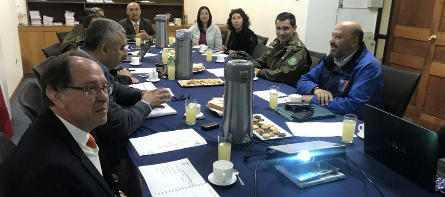Servicios contralores del Complejo Agua Negra se reúnen para analizar próxima temporada