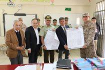 Fuerzas de Orden y Seguridad asumen el mando por elecciones y revisan los locales de votación