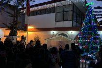 Vicuña comienza a vivir la Navidad con el tradicional encendido del árbol