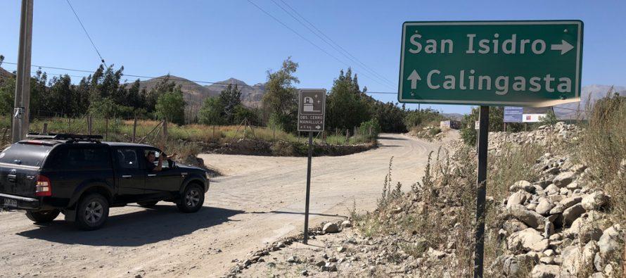 San Isidro y Calingasta contarán con la pavimentación de su ingreso el 2018