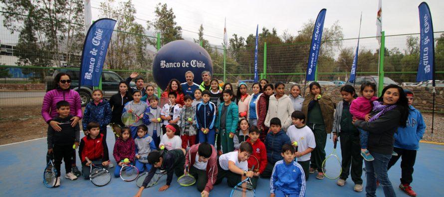 Vicuña contará con una nueva academia de tenis municipal desde el 2018