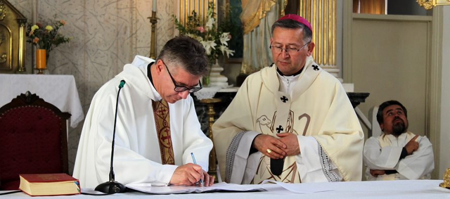 """Comunidad """"Nuestra Señora del Rosario"""" de Diaguitas recibe a nuevo administrador parroquial"""