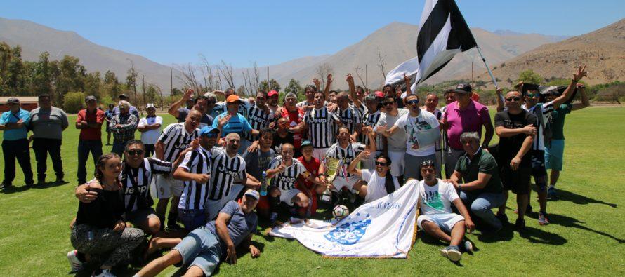 Juventus y San Isidro fueron los monarcas del Torneo de la Liga Senior de Vicuña 2017