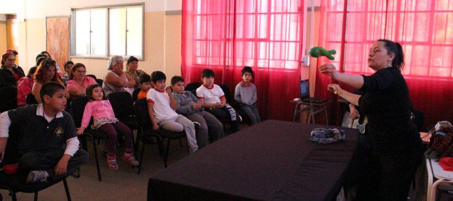 Con obra teatral cierran talleres del programa Habilidades para la Vida de JUNAEB en Vicuña