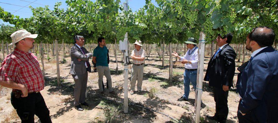 En Vicuña se presenta un proyecto pionero en materias de agricultura y recursos hídricos