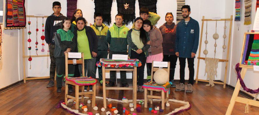 Escuela San Guillermo presentó a la comunidad su trabajo en telar y reciclaje