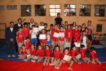 Club Deportivo de Gimnasia Artística de Vicuña presentaron sus éxitos en gala anual