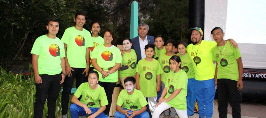 Rivadavia vivió una nueva muestra de talleres con estudiantes y profesores del colegio Ríos de Elqui