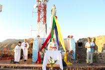 Celebran en Vicuña la homilía de la Inmaculada Concepción en el santuario cerro de la Virgen
