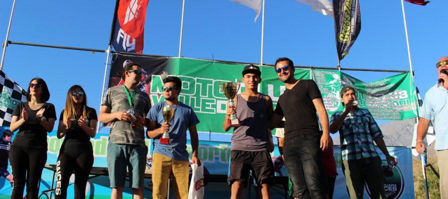 Arturo Jopia de Vicuña ganó el campeonato de motociclismo Zonal Norte de Enduro