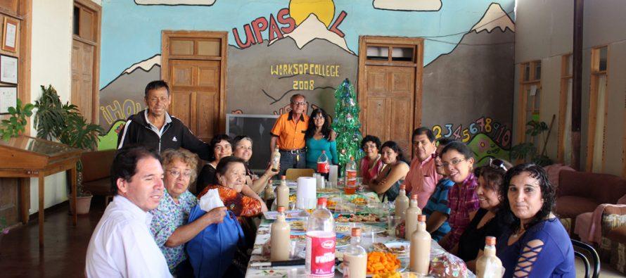 Agrupación ADISVI vivió su fiesta navideña destacando sus logros como organización