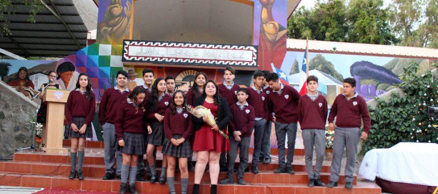 16 estudiantes son los nuevos egresados de la escuela Juan Torres Martínez de Diaguitas