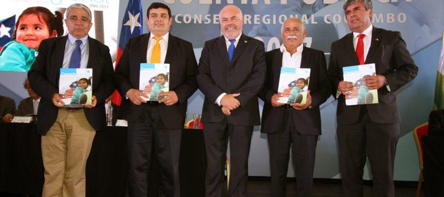 Consejo Regional cierra ciclo de 4 años de gestión con Cuenta Pública en Las Compañías