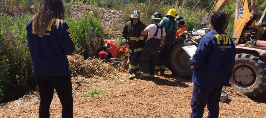 PDI investiga muerte de hombre de 34 años de edad en Fundo El Maitén