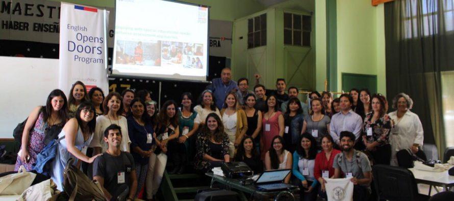 Realizan en Vicuña taller Summer Town dirigido a docentes de inglés de la provincia de Elqui