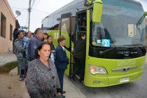 Se agregaron nuevos servicios licitados de transporte por Segunda Vuelta Presidencial