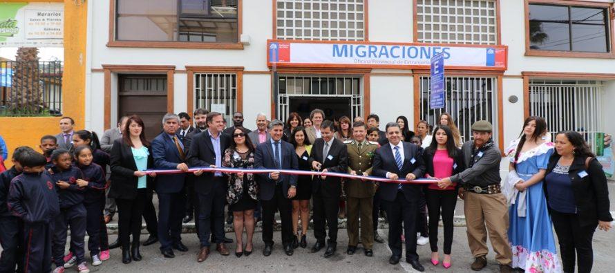 Gobierno inaugura nueva Oficina de Extranjería para mejorar atención de inmigrantes en la región