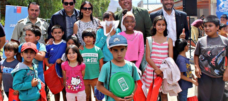 JunaebCoquimbo apoya realización de centros de atención veraniego para hijos de trabajadores temporeros