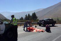 Investigan las causas del accidente que dejó a dos fallecidos en curva ingreso a Diaguitas