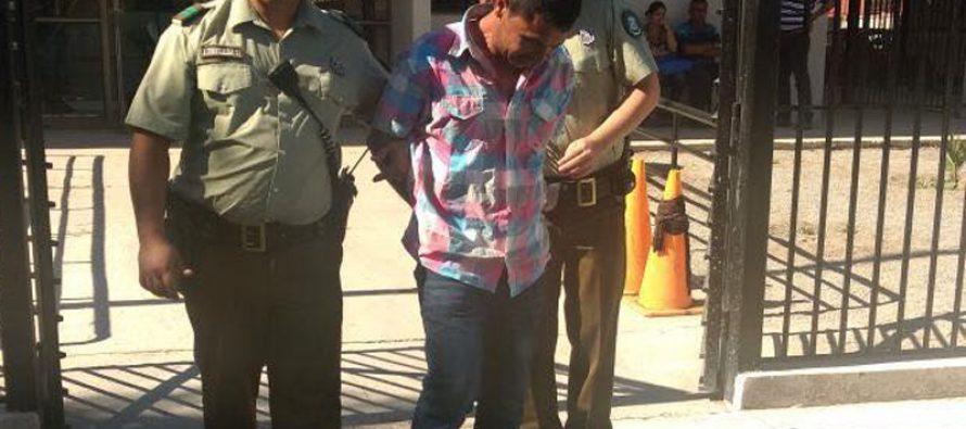 Hombre fue detenido por femicidio frustrado en Vicuña