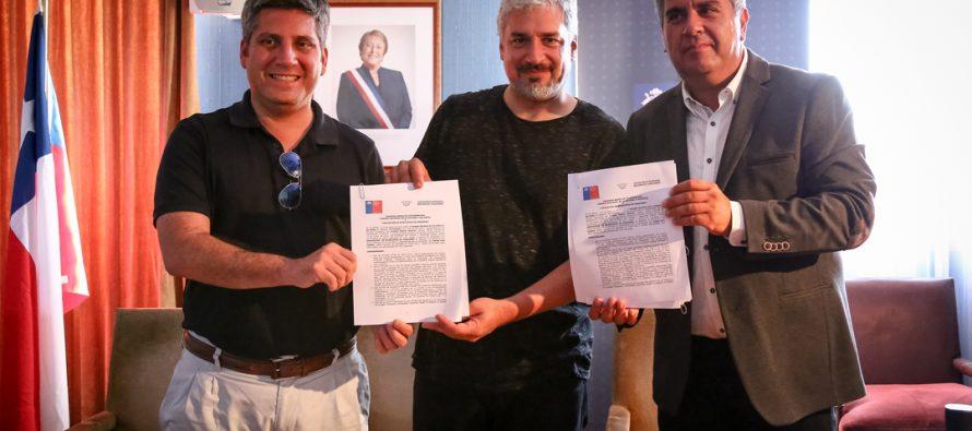 Ministro de Cultura firma convenio Film Friendly con la Asociación de Municipios de Coquimbo