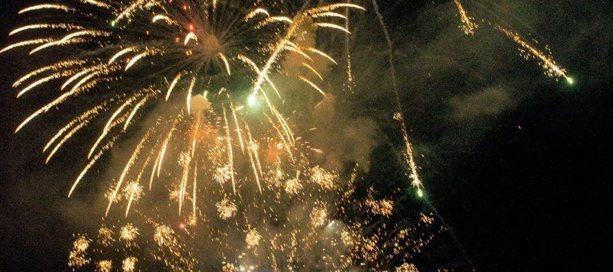 Vicuña comenzó el 2018 con fuegos artificiales y fiestas gratuitas en tres puntos de la comuna