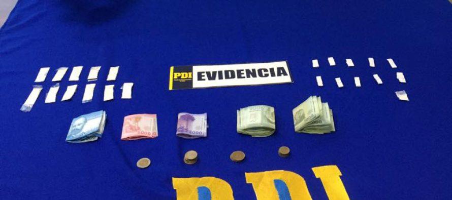 PDI irrumpe cuatro domicilios e incauta droga en Vicuña