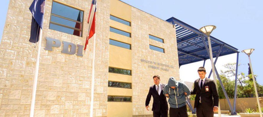 PDI detiene a 4 personas al interior de un fundo en Vicuña