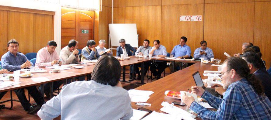 El pro Empleo y el uso de Agua fueron los temas principales de un nuevo encuentro de la AMRNC