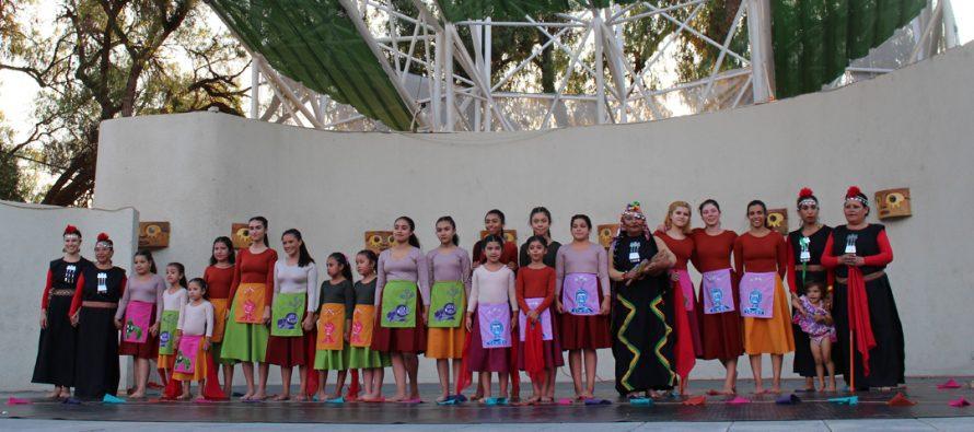 Elenco artístico de la Escuela Municipal de Danza de Vicuña tuvo su 1era presentación en público