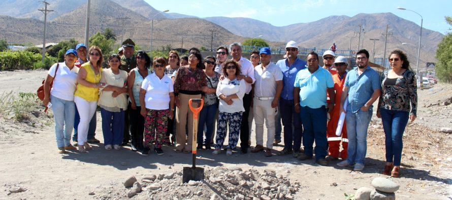 Comienzan los trabajos de construcción del nuevo emisario para Marquesa y Talcuna