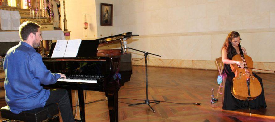 Jóvenes músicos realizan emotivo concierto en Pisco Elqui