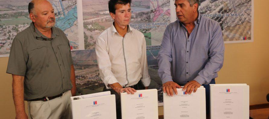 Concluye estudio para determinar zonas de riesgo por aluviones en Vicuña y Paihuano