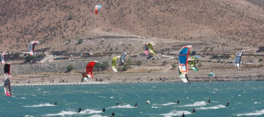 Entre el 12 y 13 de enero se realizará el Kite Surf Tour by Cerveza Royal Guard en embalse Puclaro