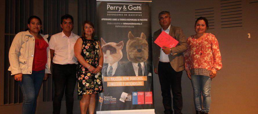 Vicuña se hizo parte de un nuevo encuentro sobre tenencia responsable de mascotas