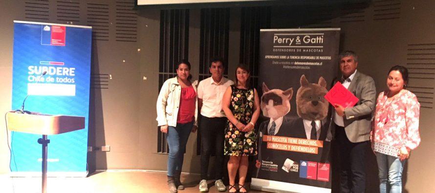 Municipios de la región de Coquimbo conocen  implementación del Registro Nacional de Mascotas