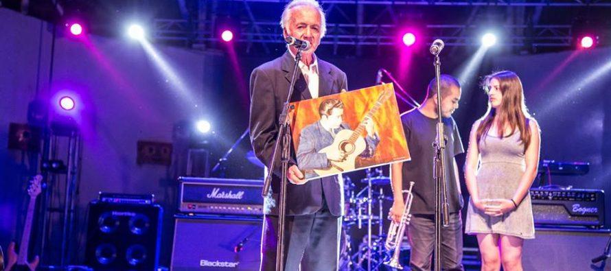 Festival Concert Valle 2018 reconoció trayectoria de lutier y dirigente social vicuñense