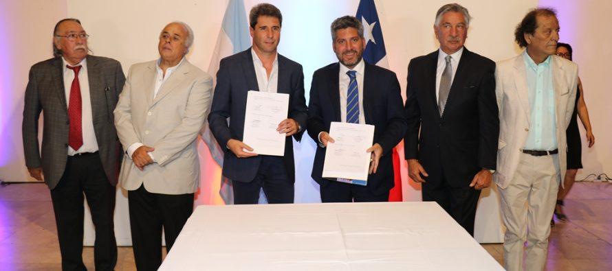 Construcción de laboratorio científico subterráneo en  Túnel de Agua Negra cuenta con respaldo de Chile y Argentina