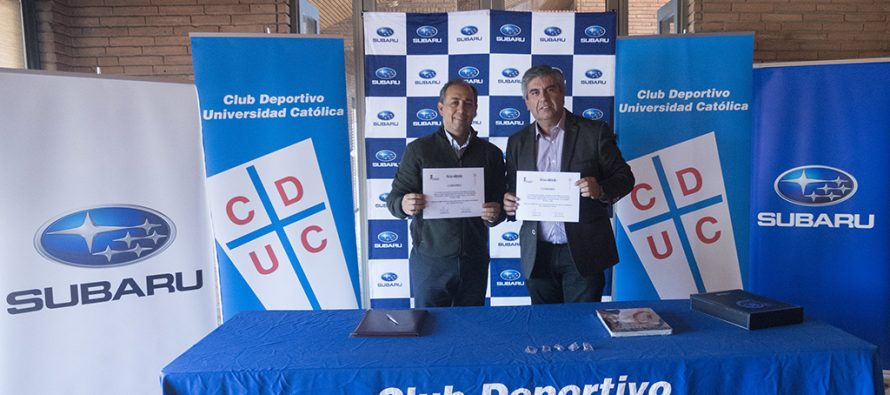 Club Deportivo Universidad Católica firma acuerdo con la municipalidad de Vicuña para el Cross Triatlón 2018