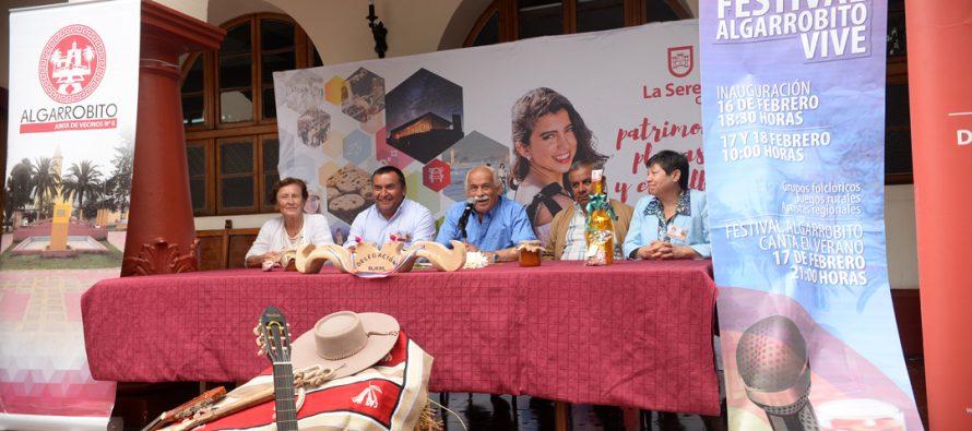 Feria Costumbrista y Festival de Algarrobito concentrará lo mejor de la cultura típica