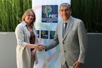 Realizan nombramiento oficial al vicepresidente de la FEC región de Coquimbo