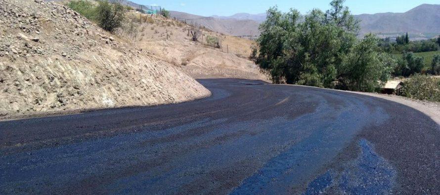 Anuncian corte de tránsito por pavimentación del sector El Caracol de Calingasta