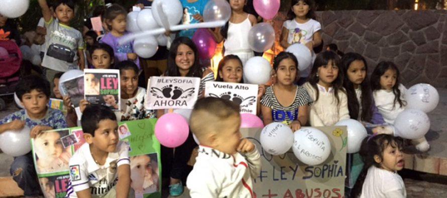 Vicuña se manifiesta y exige justicia por Sophia sumándose a las manifestaciones a nivel nacional