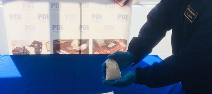 """PDI detiene a sujeto apodado """"Yegua Colorada"""" por infracción a la ley 20.000 de drogas"""