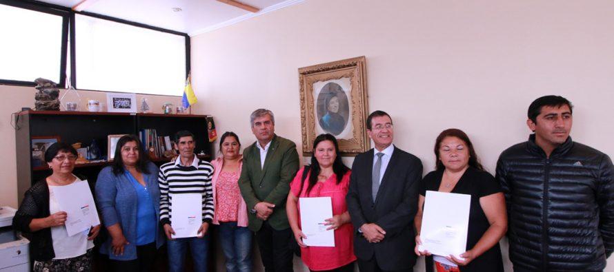 Organizaciones de Vicuña recibieron aportes del Fondo Social Presidente de la República