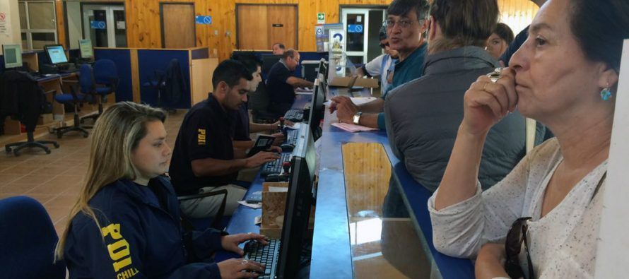 PDI ha controlado a 56.476 personas en Paso de Agua Negra