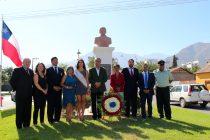 Con ofrenda al fundador comenzará la conmemoración de los 197 años de Vicuña