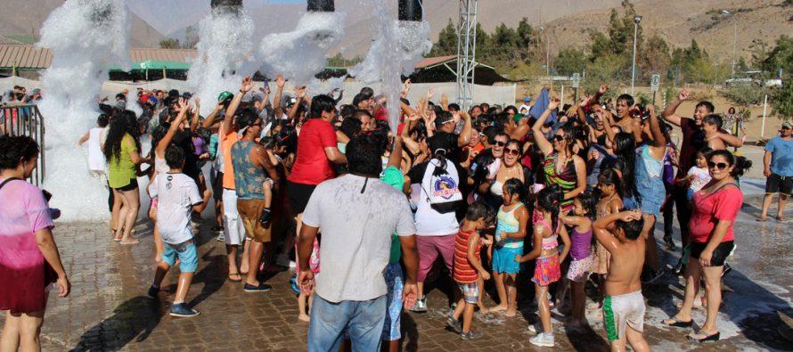 La Feria de Abastos y Eventos fue el epicentro de la Fiesta de la Juventud en Vicuña