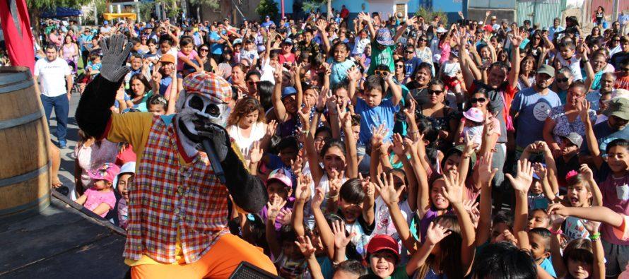 Hasta el Gato Juanito se hizo parte de la Fiesta de la Vendimia en la comuna de Vicuña